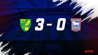 HIGHLIGHTS   Norwich 3 Town 0