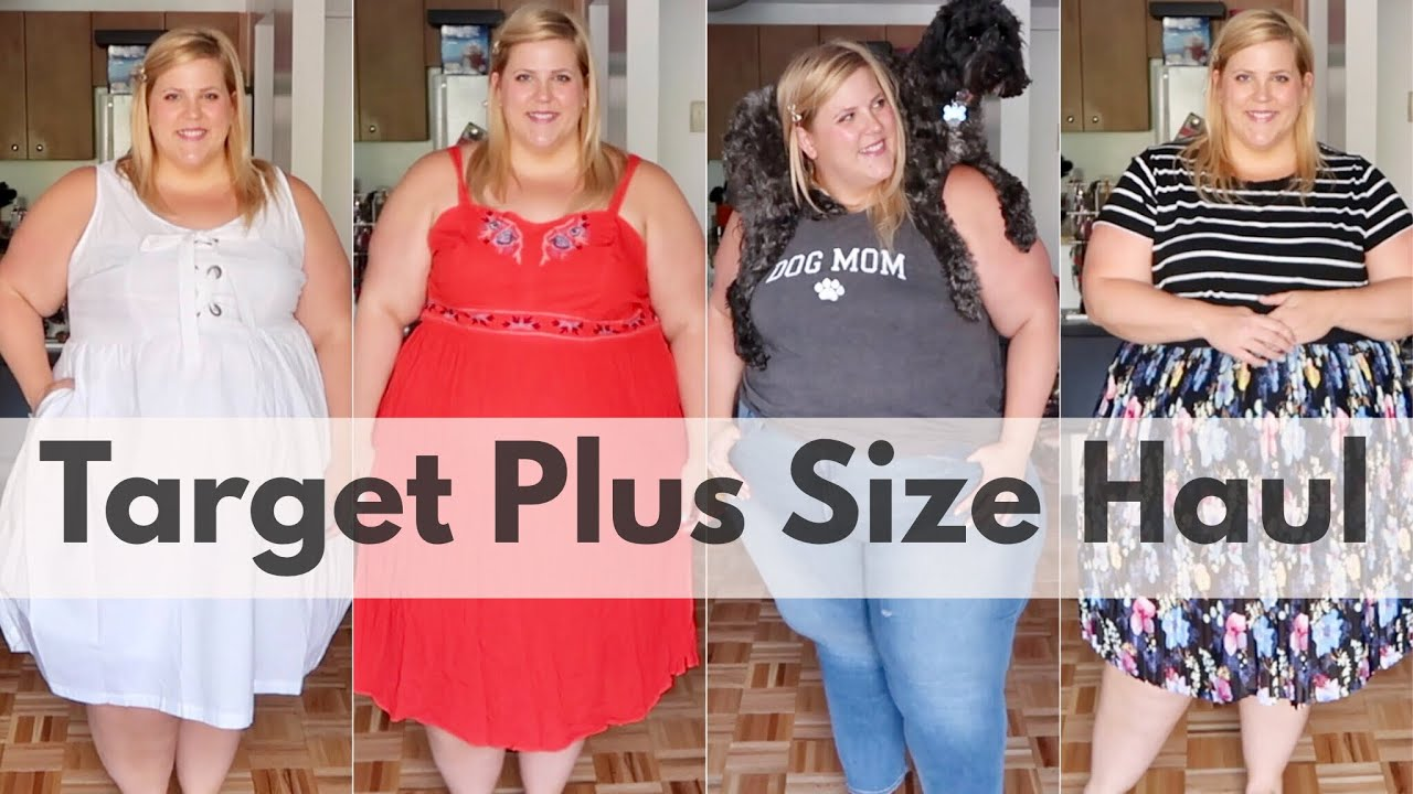 1e7bc614d50cb8 Target Affordable Plus Size Haul Round Two - YouTube