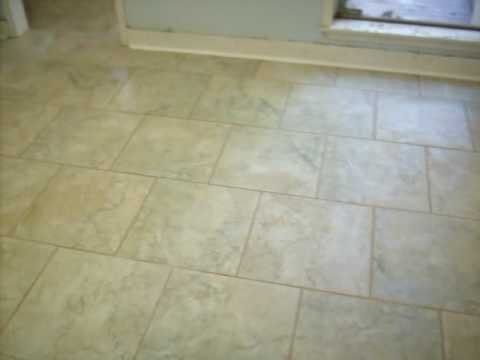 18x18 Tile Install Youtube
