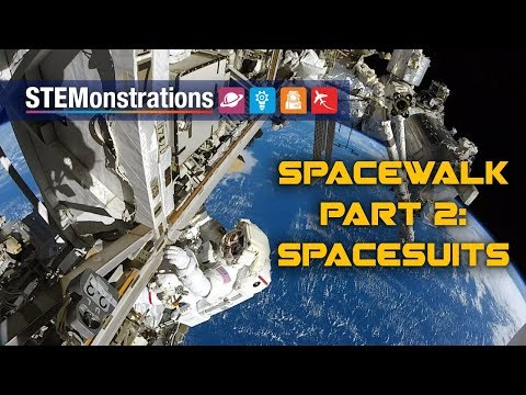 STEMonstrations: Spacewalk Part 2: Spacesuits