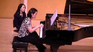 Sinae Lee performing Unauthorised Edition (World Premiere) by Jay Capperauld