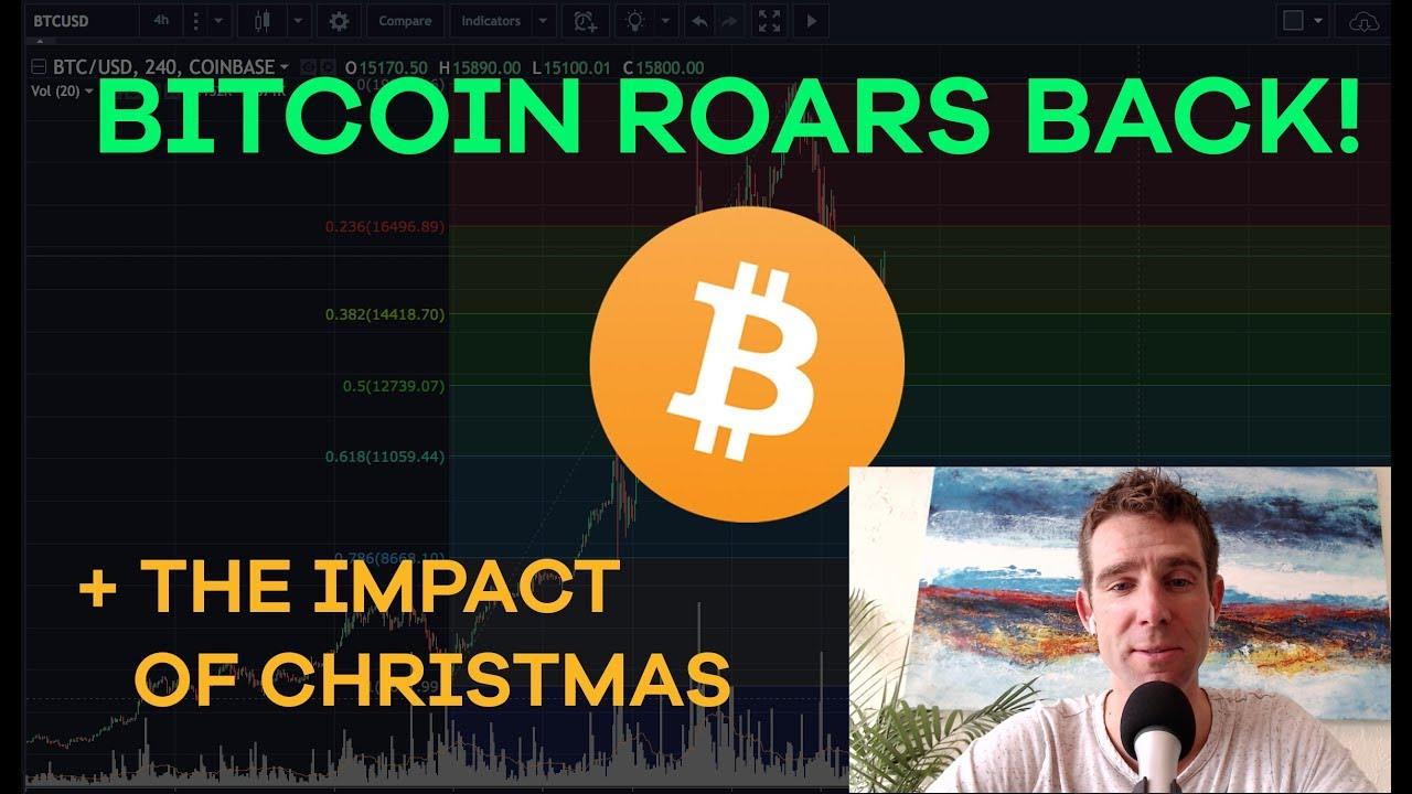 Bitcoin Comes Back! Christmas Impact, Litecoin, McAfee Pumps, Binance, Tax Harvesting - CMTV  Ep113