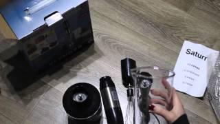 Обзор погружного блендера Saturn ST-FP9086 - review blender Saturn ST FP9086
