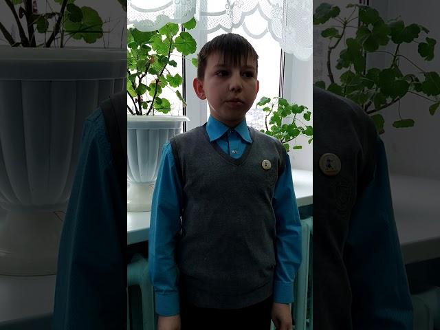 Изображение предпросмотра прочтения – АртёмСтародумов читает произведение «Умом Россию не понять...» Ф.И.Тютчева