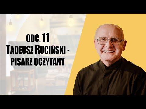 Tadeusz Ruciński pisarz oczytany - Regał