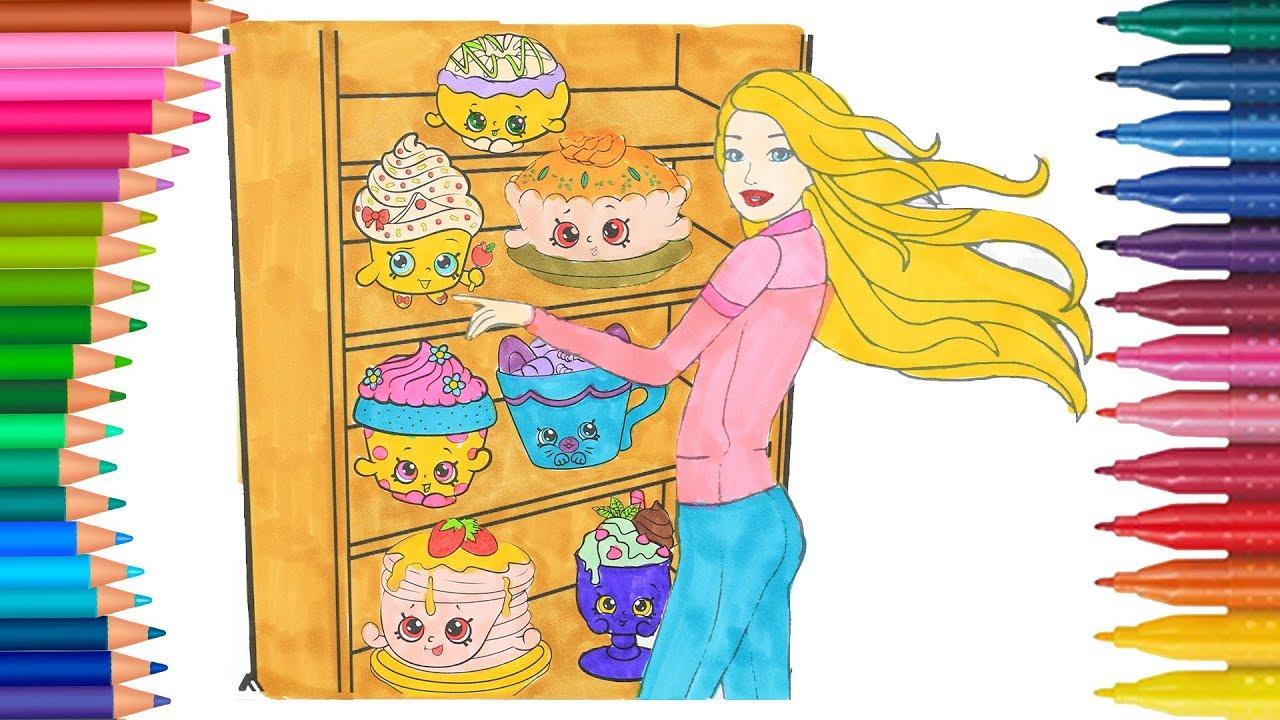 Barbie la principessa come disegnare e colorare - Disegnare le proprie pagine da colorare ...