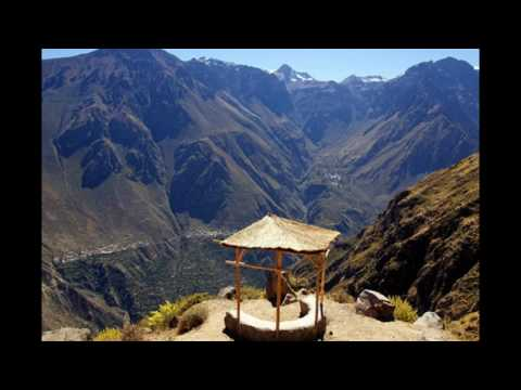 Tourist Destination in Peru Colca Canyon
