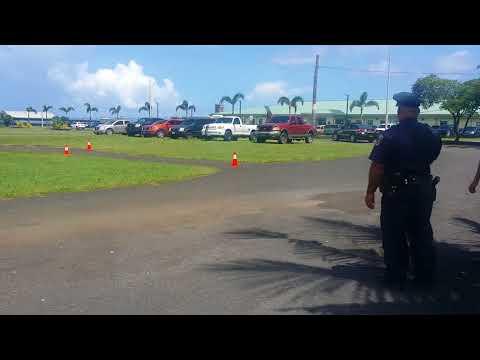 Am. Samoa Police Academy 26 DDC Day 1