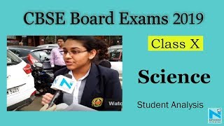 CBSE Class 10 Board Exam 2019: Science Paper Analysis by Students