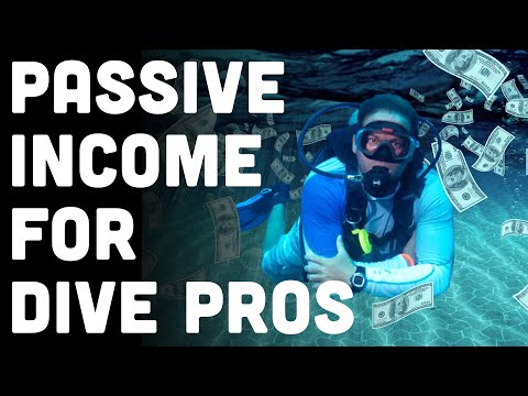 Dive Instructor! Is Your Paycheck 💩? Here's 4 Passive Income Ideas for Scuba Pros