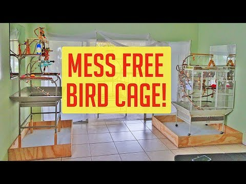 how-i-mess-proofed-my-parrots-cage---custom-built-new-project-complete!-😃👍