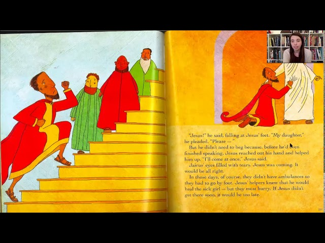 Bible Story - 3 Little Girl and the Poor Frail Lady