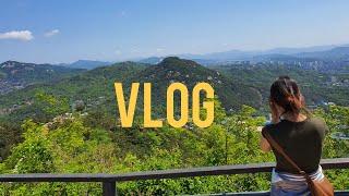 vlog 대학생 일상|인왕산 등산|망원동 소품샵|영어 …