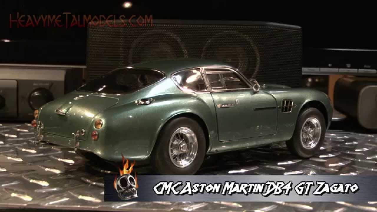 All Types aston db4 zagato : CMC 1:18 Aston Martin DB4 GT Zagato | Heavy MeTal Models - YouTube