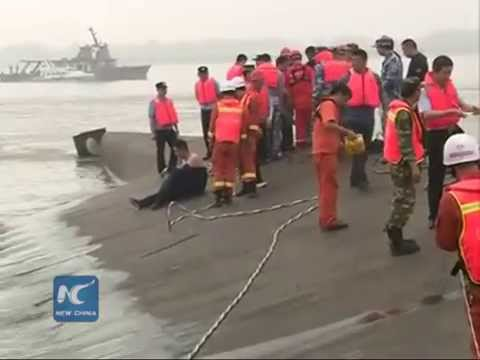Over 400 still missing after Yangtze River ship sinking
