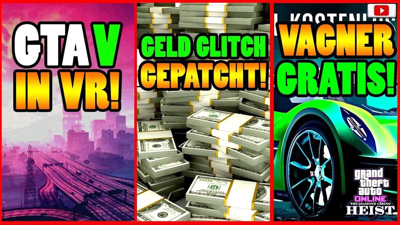 🙌Alle Neuen Inhalte!🙌 GTA 5 IN VR! GRATIS VAGNER! + Mehr! [GTA 5 Online Casino Heist Update]