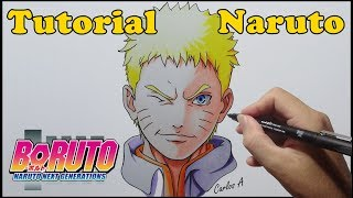 Como Desenhar Naruto - How to Draw Naruto