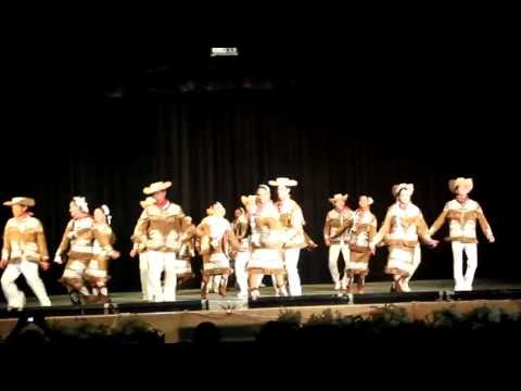 Ballet Folklorico Benemérito de las Americas Querreque - Tamaulipas (HD)