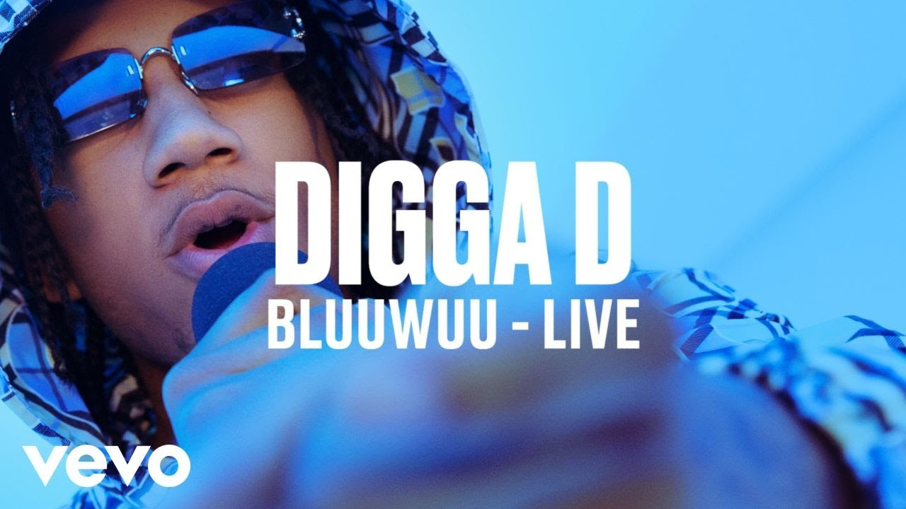 Download Digga D - Bluuwuu (Live) | Vevo DSCVR
