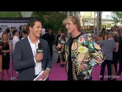 Logan Paul Red Carpet Interview  BBMAs 2017