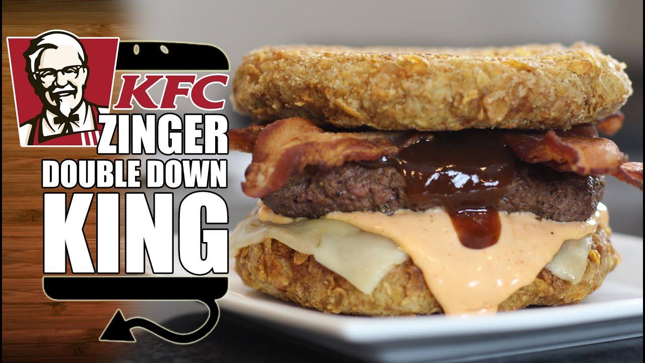 Kfc Zinger Double Down King Recipe Remake