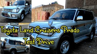 Toyota Land Cruisers Prado Test Drive | Toyota Prado 1998 Review Test Drive and Walk...