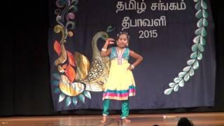 16_Stepping angel_Omaha Tamil Sangam Deepavali 2015 Resimi