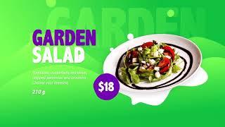 Видео меню для ресторанов кафе баров по доступным ценам РАДОДАР radodar