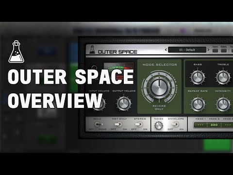 Outer Space Overview - Tape Echo Plugin