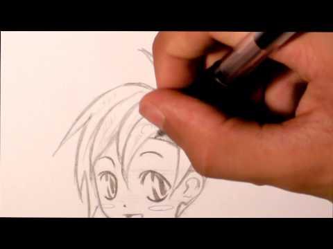 Tutorial - Disegnare viso Puccioso Manga (chibi character) • RichardHTT