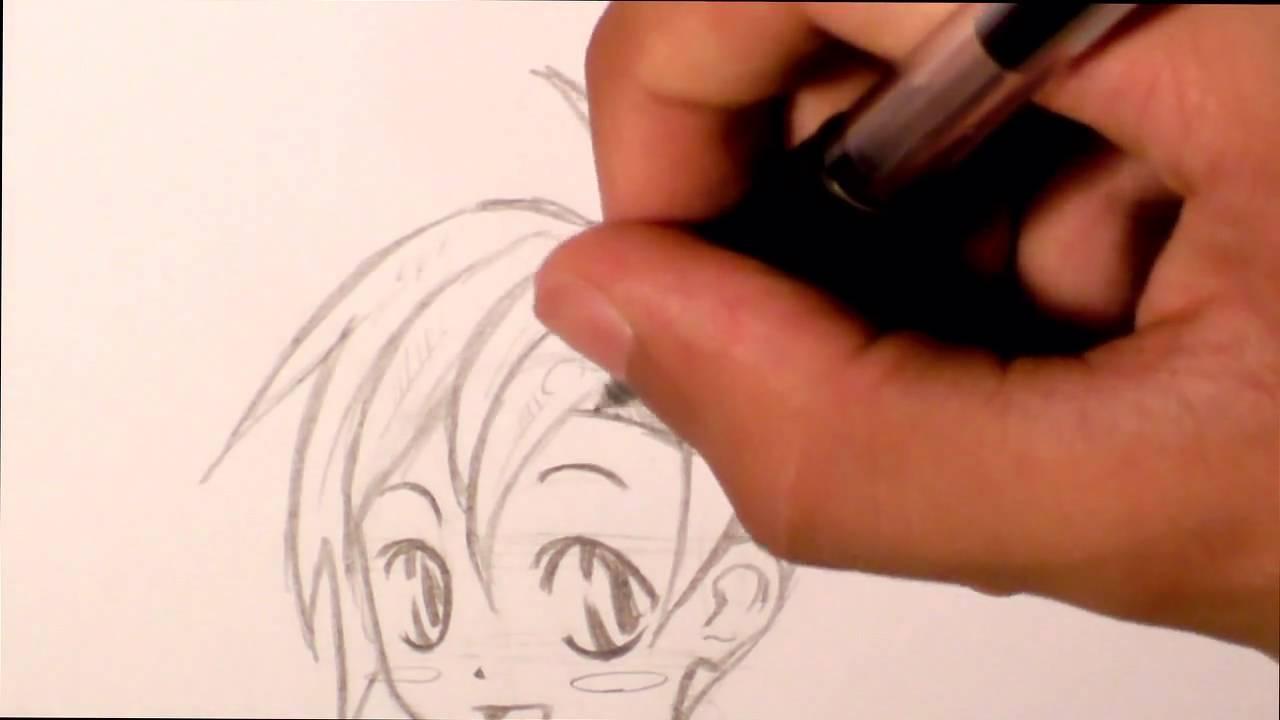 Tutorial Disegnare Viso Puccioso Manga Chibi Character