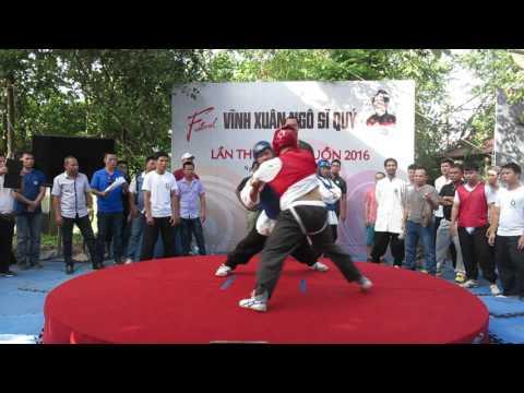 Festival Vietnam Wingchun  2016. Trọng Hiếu vs Xuân Toàn