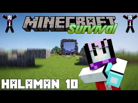 Ganasnya Nether... | Minecraft Survival Indonesia Nostalgia | Halaman 10