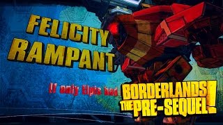 Borderlands: The Pre-Sequel - Felicity Boss Fight (1080p60)