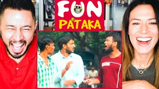 FUNPATAKA | Arupu - A Funny Prank In Telugu | Reaction | Jaby Koay & Megan Le