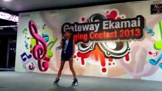 1st singing contest Lea-Sarah in Bangkok