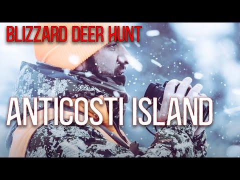 Anticosti Island Whitetail Hunt 1