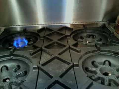 Bluestar Cooktop Ignition You