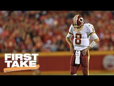 First Take debates if Kirk Cousins is a Super Bowl QB | First Take | ESPN