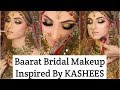 Barat Bridal Makeup Tutorial Inspired by KASHEES