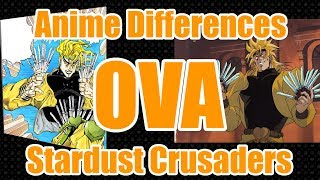 Jojo OVA & Manga Differences - Stardust Crusaders (1993/2000)