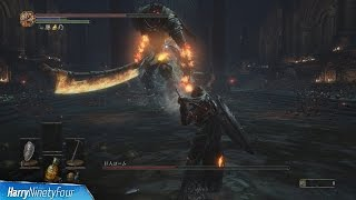 Dark Souls 3 - Yhorm the Giant, Lord of Cinder Boss Fight Walkthrough