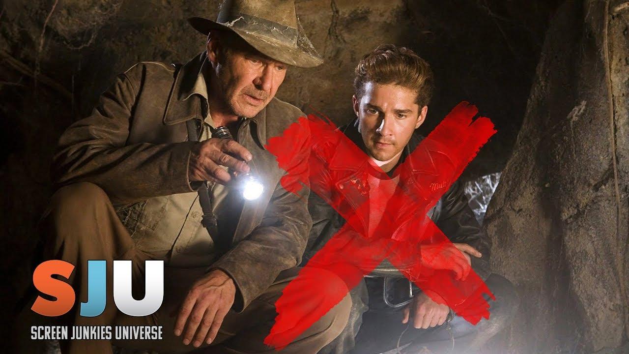 Shia LaBeouf OUT for Indiana Jones 5 – SJU