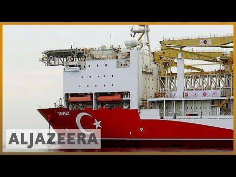 Greece energy summit: Turkey, Cyprus lay claim to natural gas