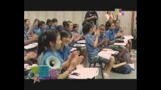 120228 Skip Beat School Attack - Donghae, Siwon