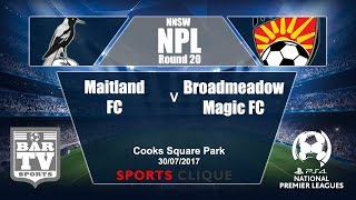 Maitland vs Broadmeadow Magic full match