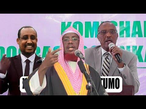 Sheikh umal o afka Furaty Dhiiga Muslimka wa xaaran iyo c/wali gaas&Muuse ku faanaya Dagalka tukaraq