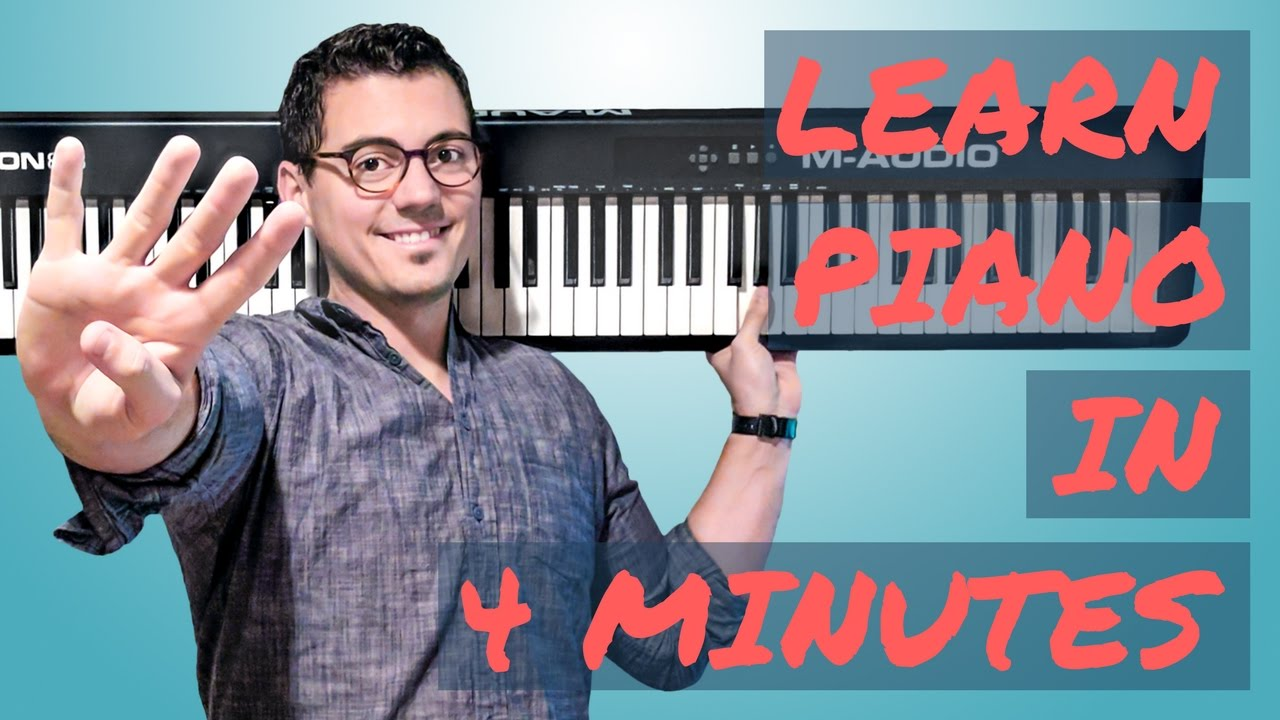 Learn How to Play Piano in Just 4 Minutes | Piano In 21 Days