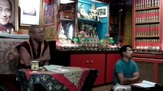 2012.07.11 - Geshe Ngawang Tenley -- Mind and Cognition - Lorig