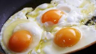 Яичница глазунья. Как сделать яичницу очень просто? Как делать самую быструю и простую яичницу?